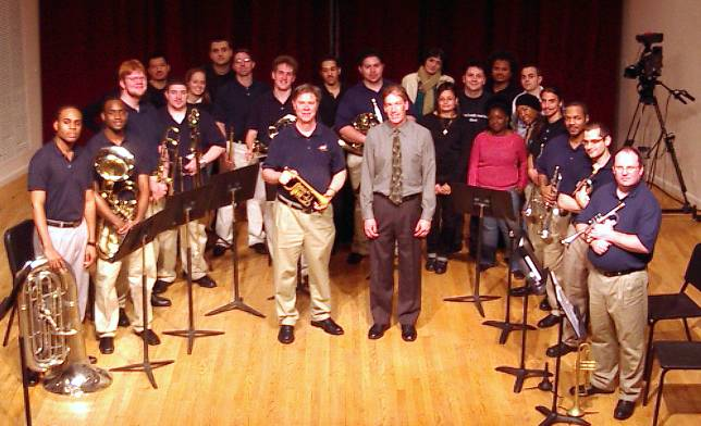 Brooklyn College Brass Ensemble, Dr. Douglas Hedwig, Director/Conductor