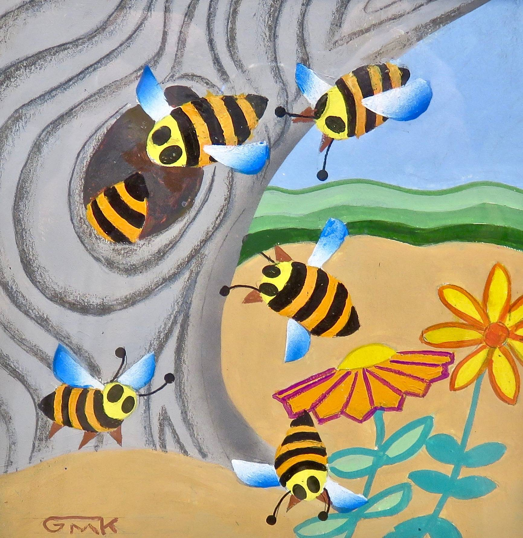 Bees Four