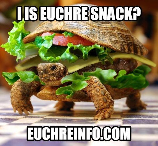 I is Euchre snack?