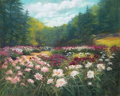 Full Bloom Peony Garden #2