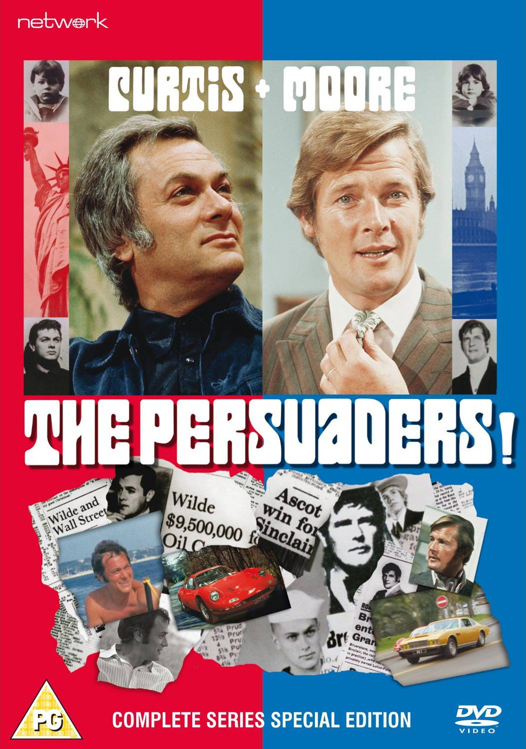 The Persuaders! - (DVD) 40th Anniversary Commemorative Set