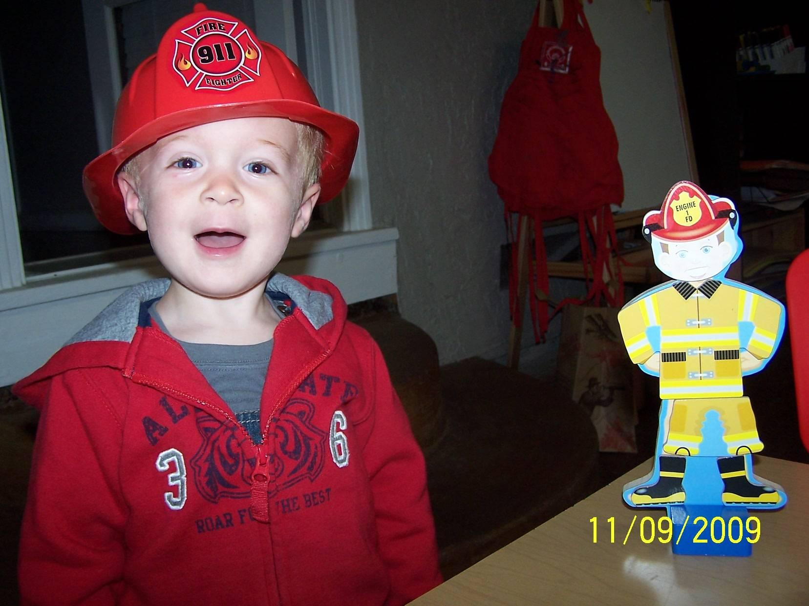 I'm a Fireman mom
