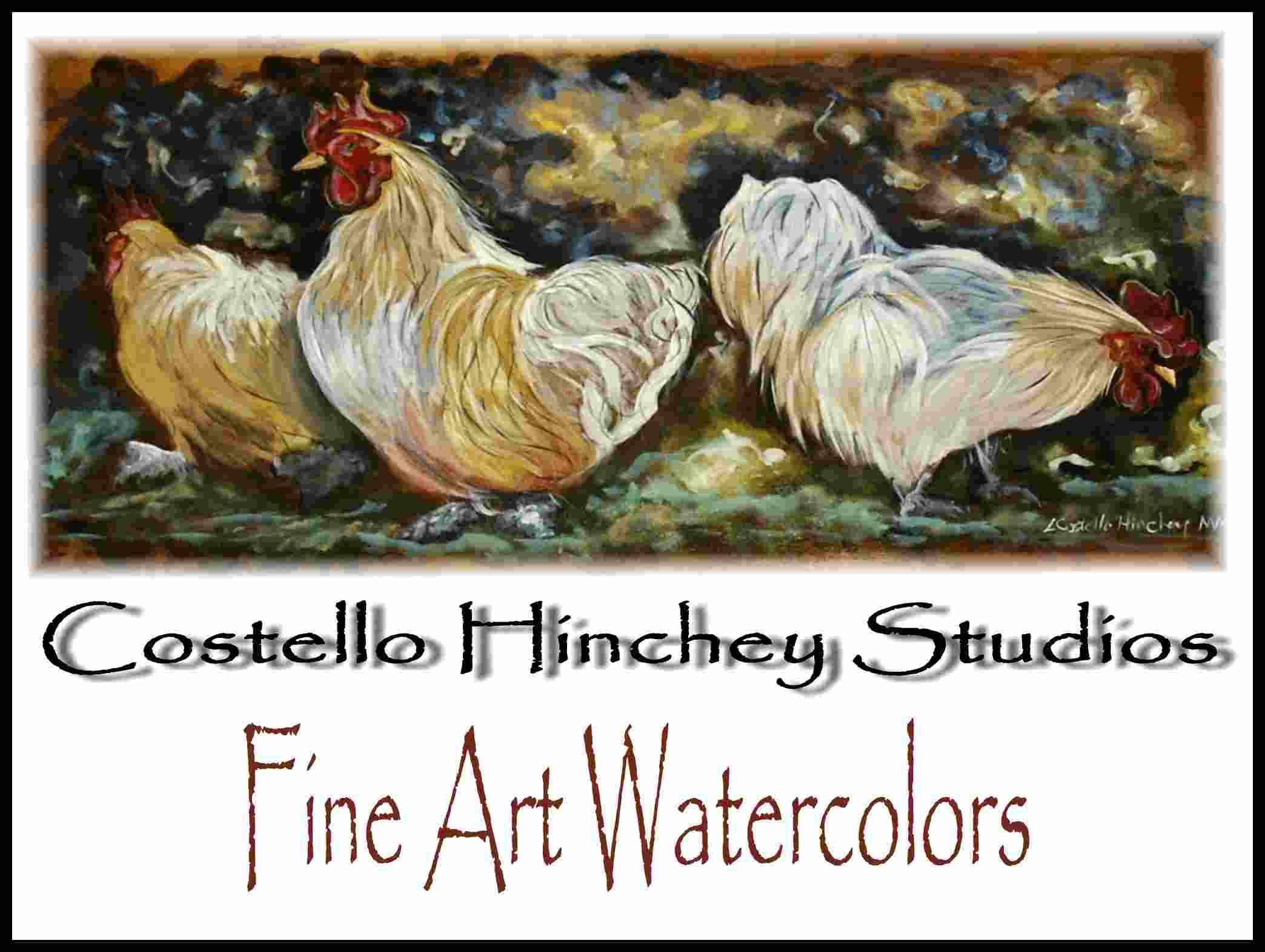 Pet Chicken Portrait Commission