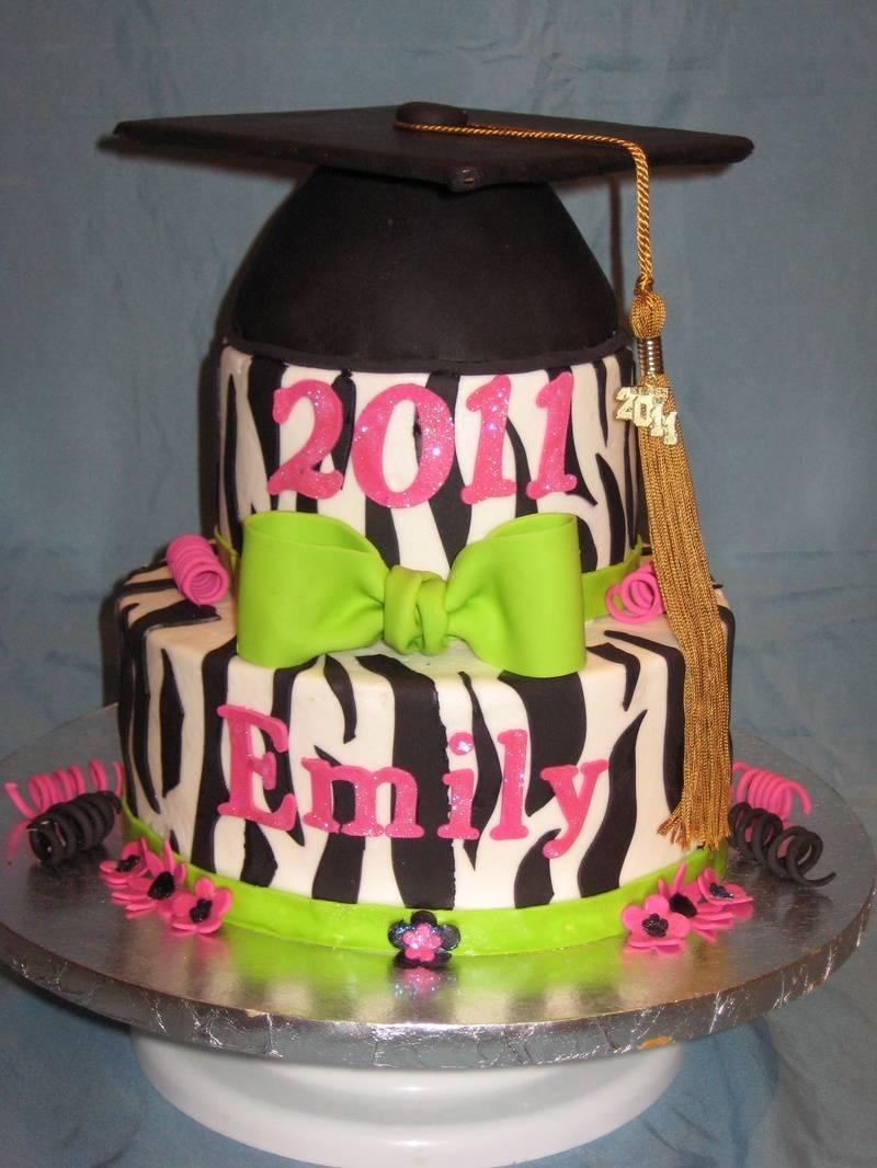 Emily Graduation Cake