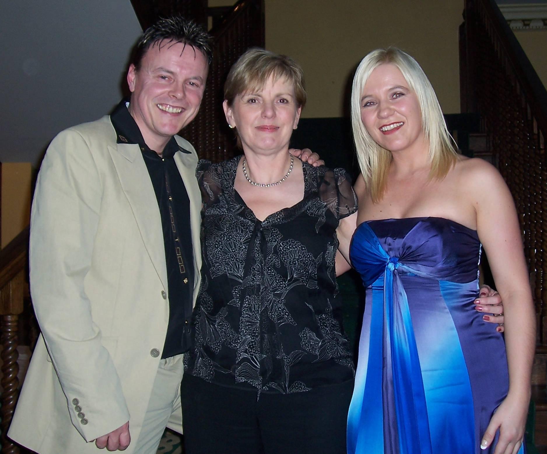 TM, Denise Frazer & FE at Awards, Setanta House Hotel, Kildare