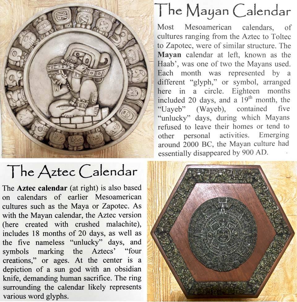 Mesoameric Calendars