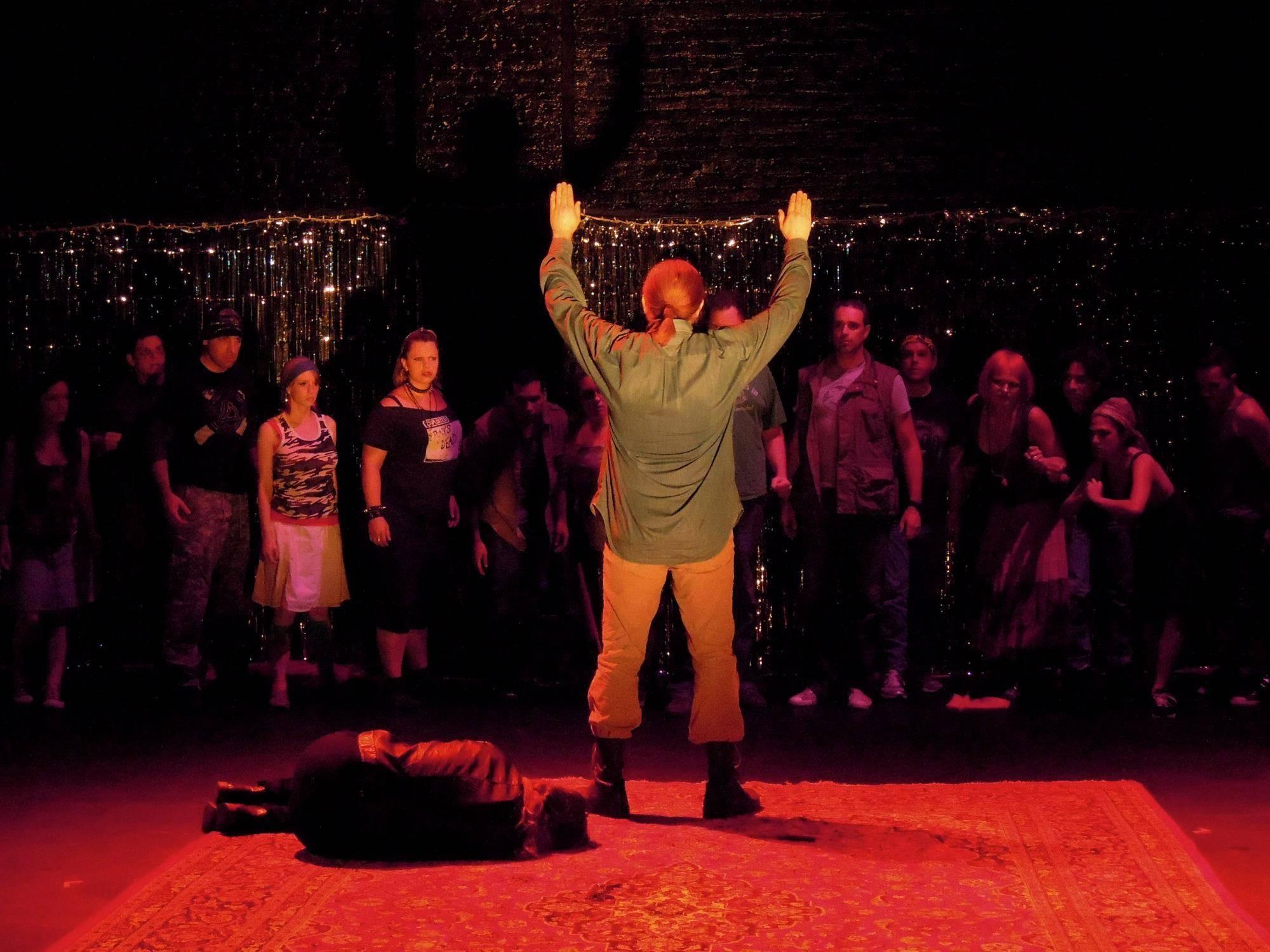 Don Jose in Carmen, Act 4
