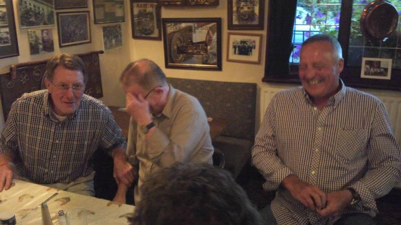 Pete Roberts, Sid Cooper, Tom Tyrone
