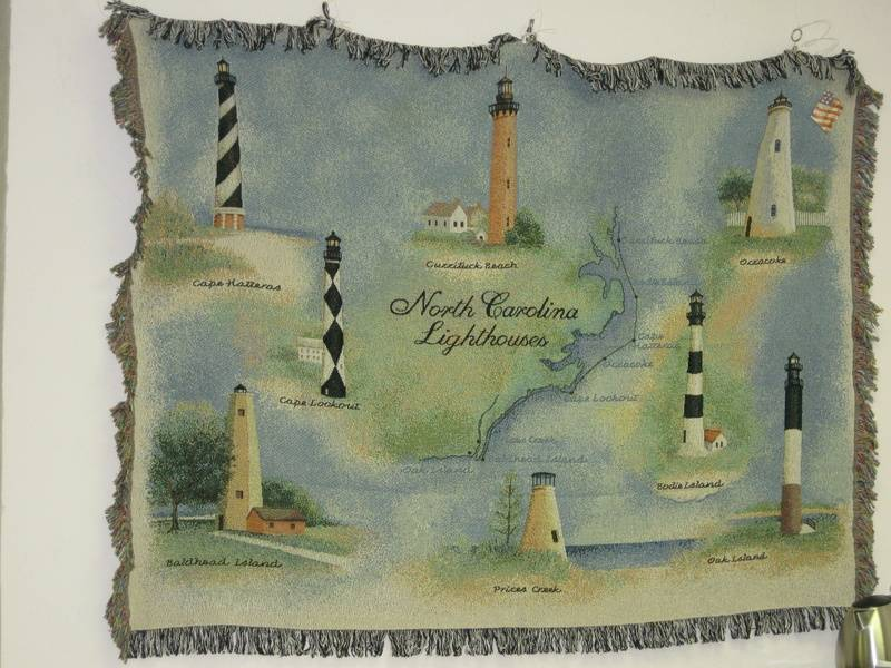Handcrafted throws made in North Carolina