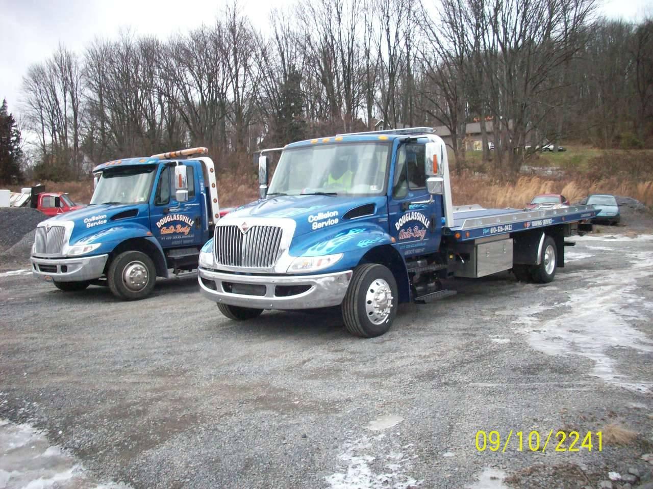 2005 & 2008 Int'l Twins - Chevron S-10 Steel Beds