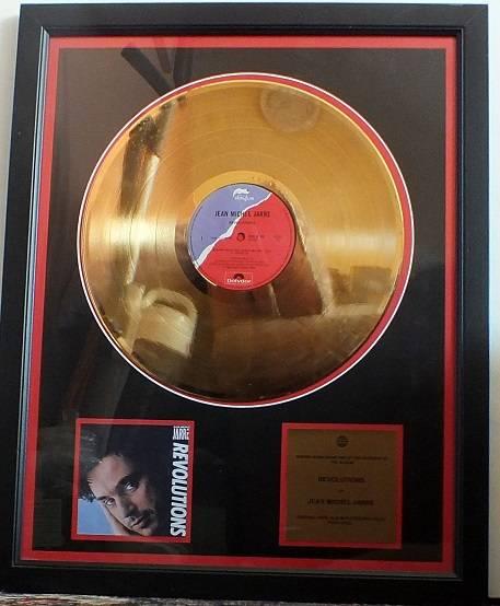 Revolution Gold Disc