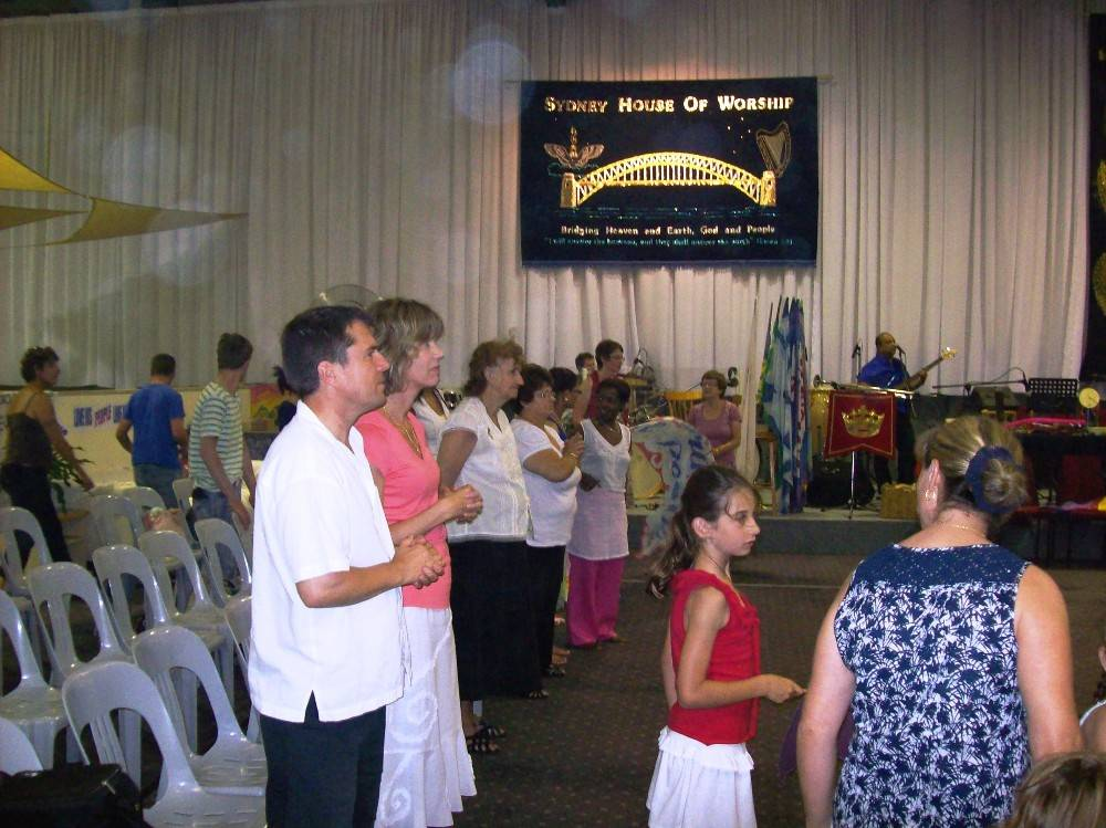 Orbs appear in Revival Meetings with Kira Mitchell