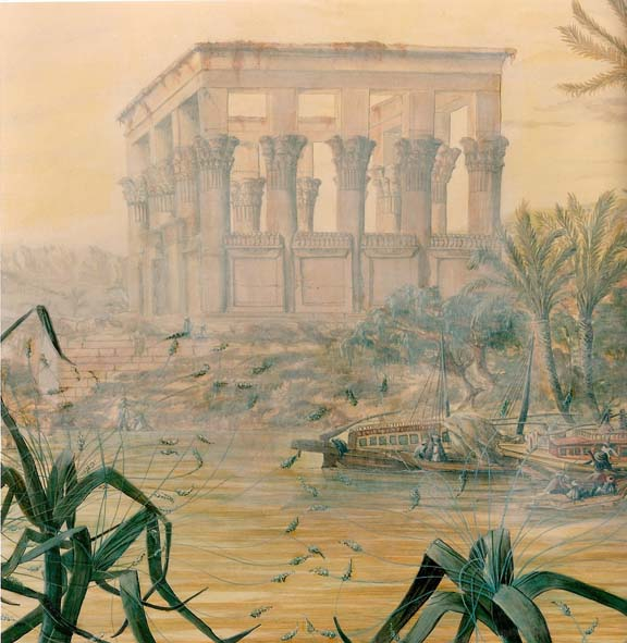 """mural """" on the Nile """" Available"""