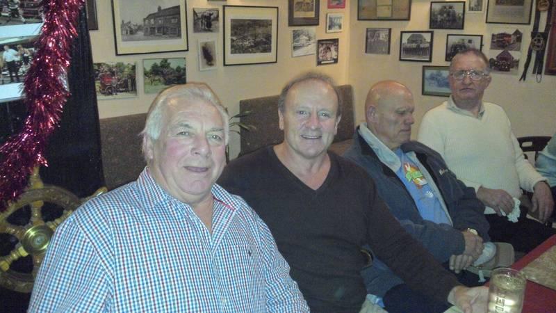 Johnny Wilson, Mal Sanders, Ian Muir Sid Cooper