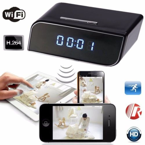 HD 720P Wireless Wifi IP Spy Hidden Camera