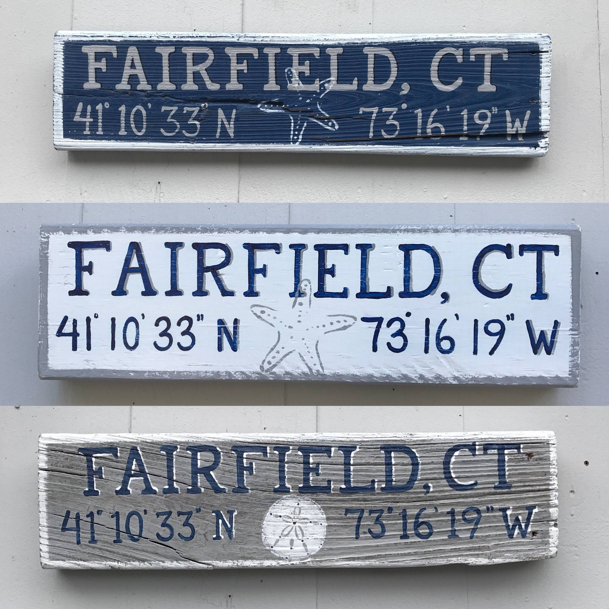 Small Fairfield, CT  signs