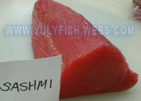 Tuna loins,Sashimi