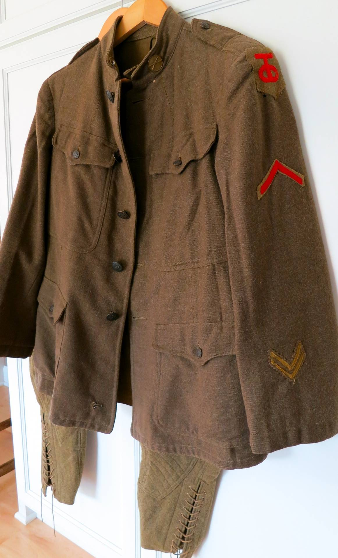 Judge Knott infantry tunic 90th division