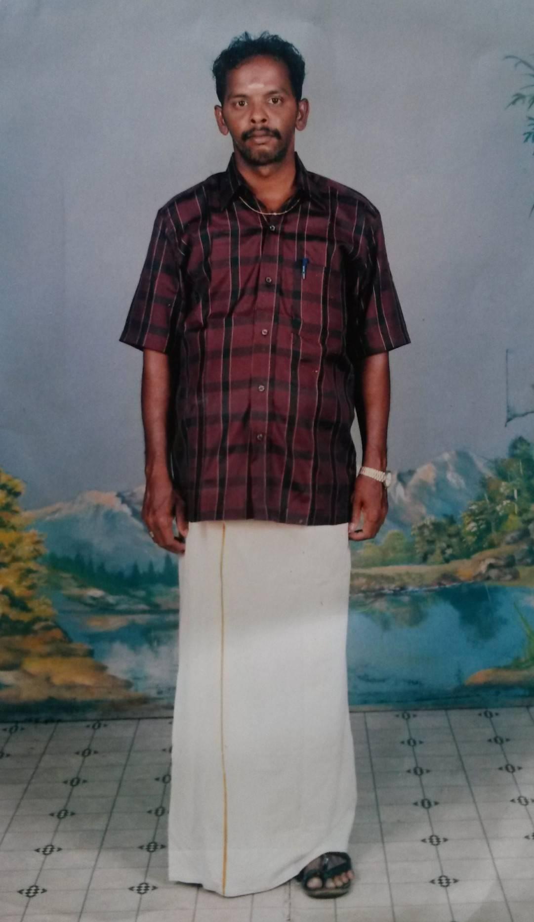 Mid age photo of Sivamathi.