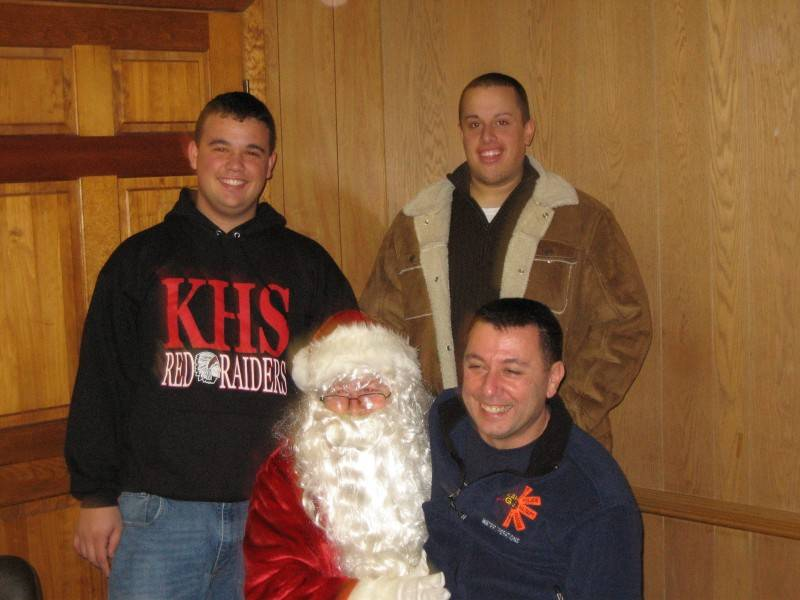 Phil, Phil, Santa & Kenny