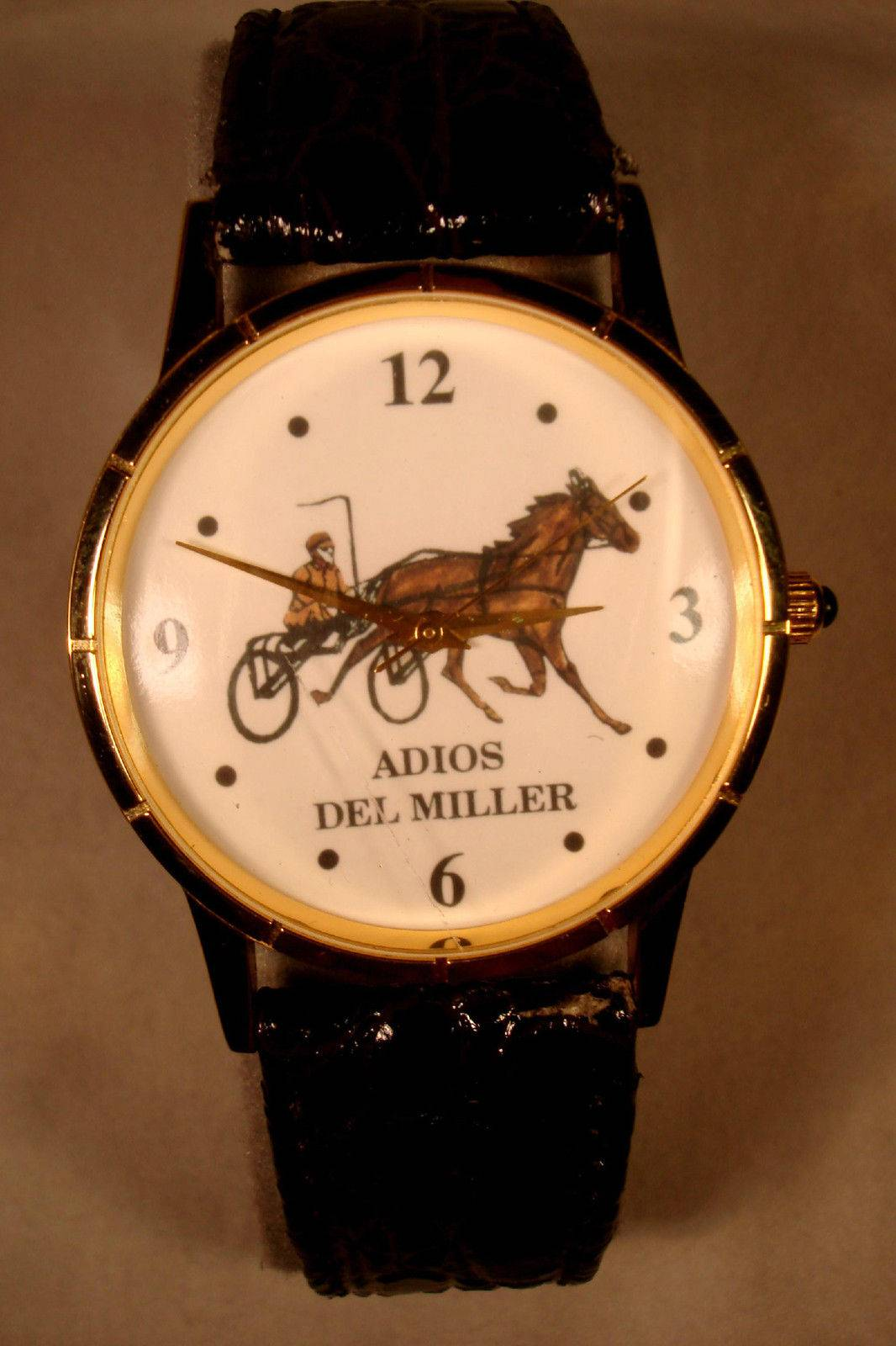 STAN MUSIAL'S Own ADIOS DEL MILLER Engraved Watch