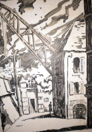 BREST  ARSENALla Porte Rouge