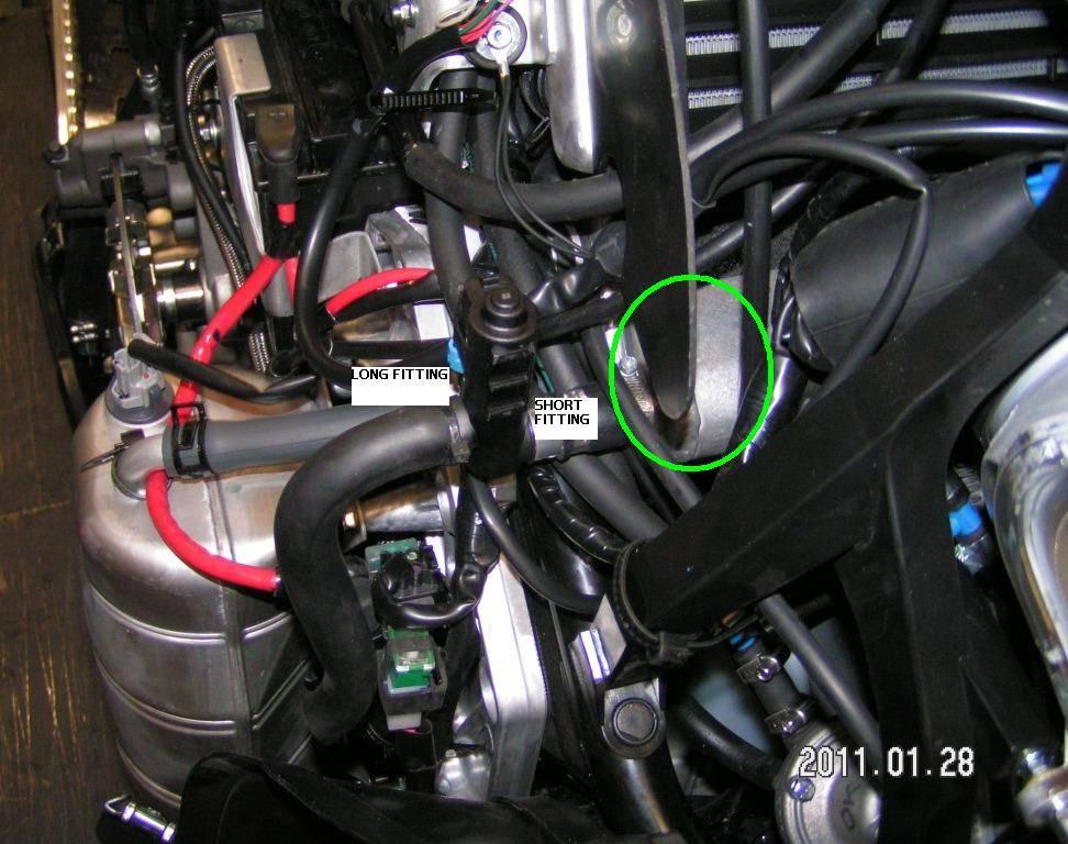 Latter sytle MCX air/oil separator tank