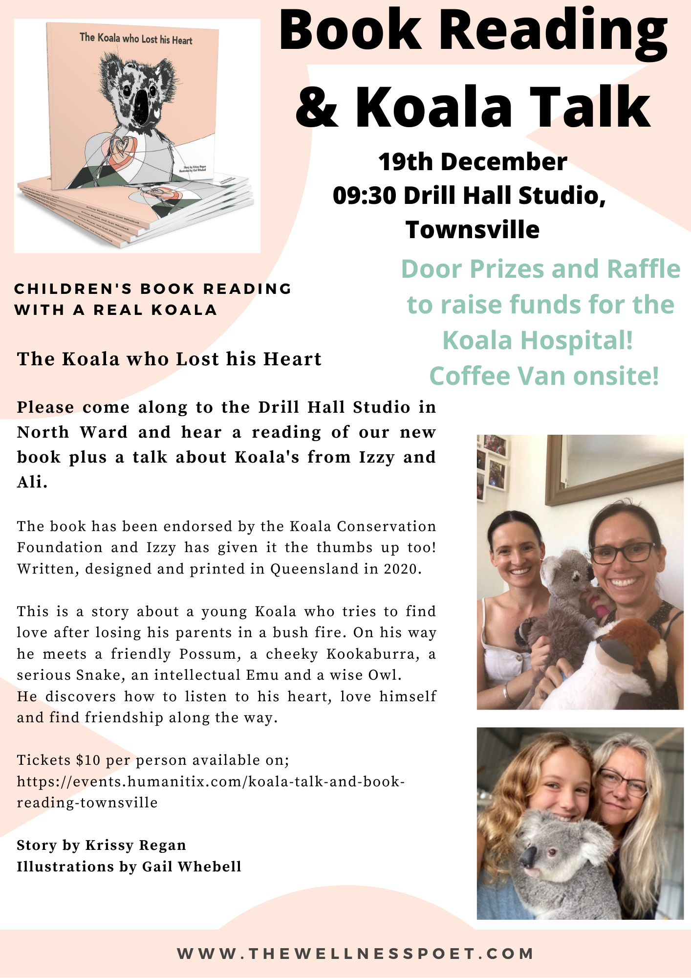 Townsville Book Reading - The Drill Hall