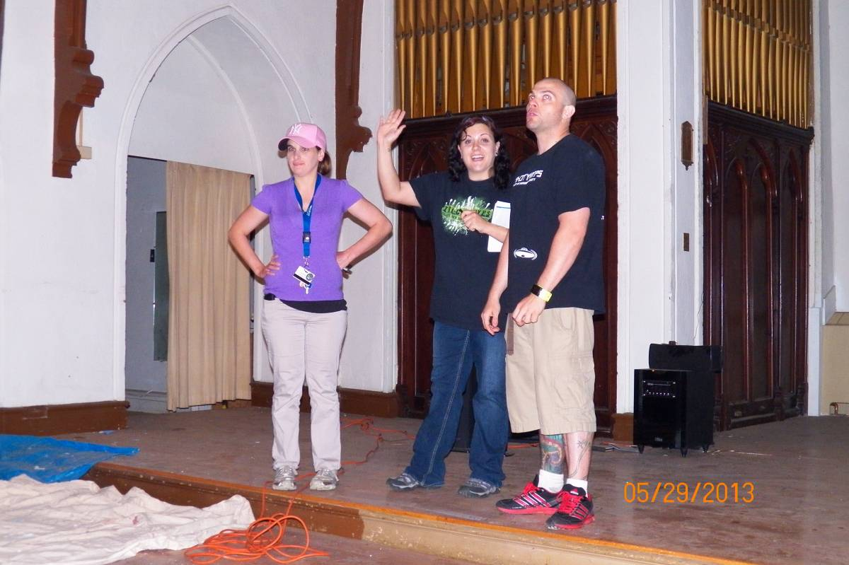 Krissy, Amy & Gary
