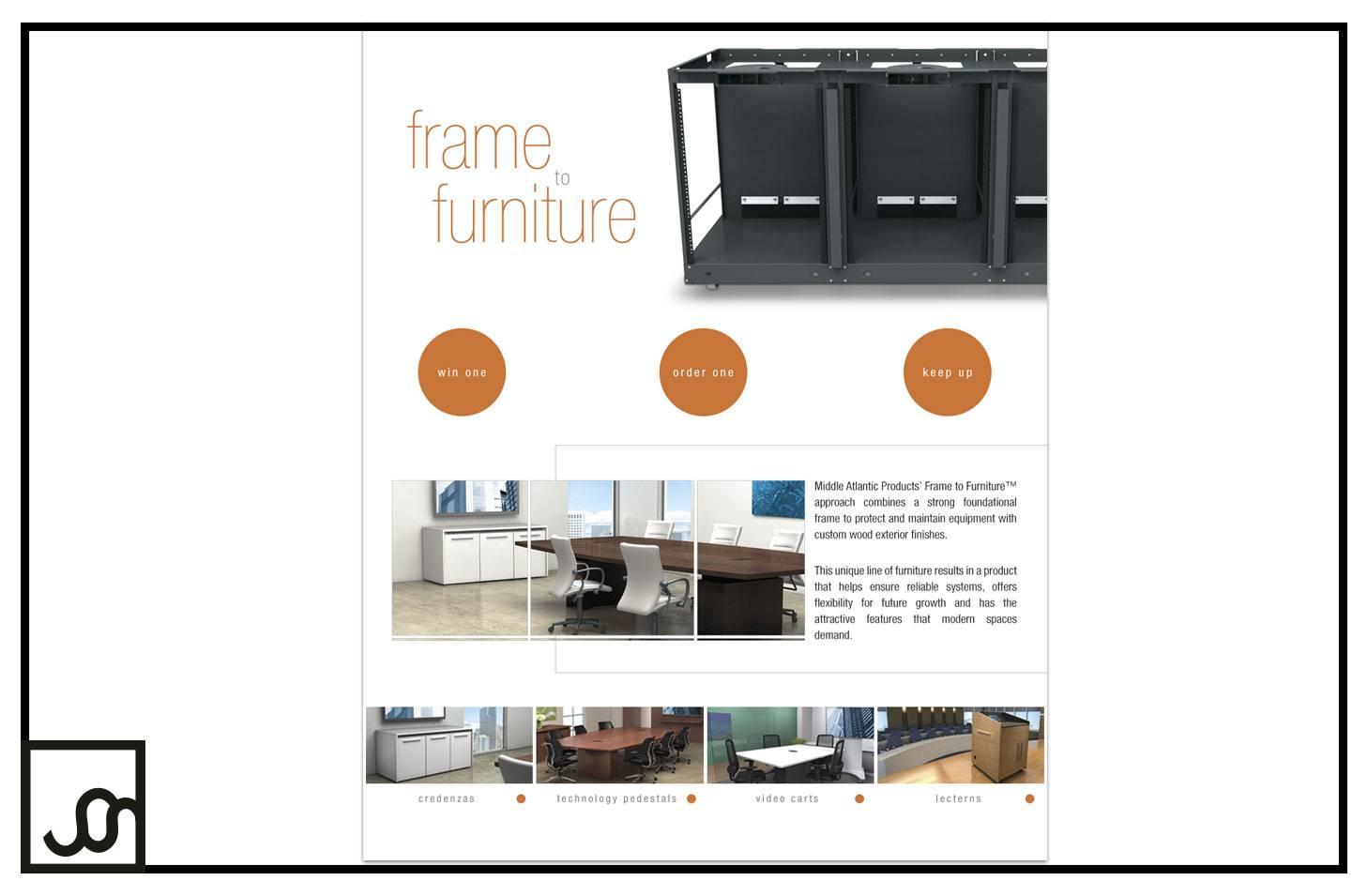 Frame to Furniture Landing Page