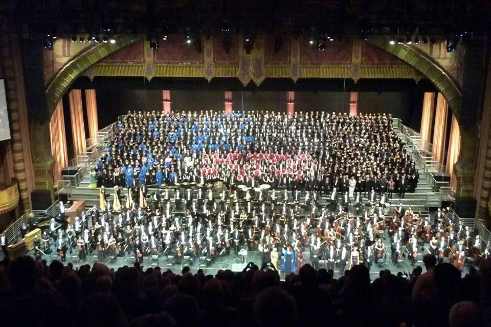 Mahler 8 - Shrine Auditorium