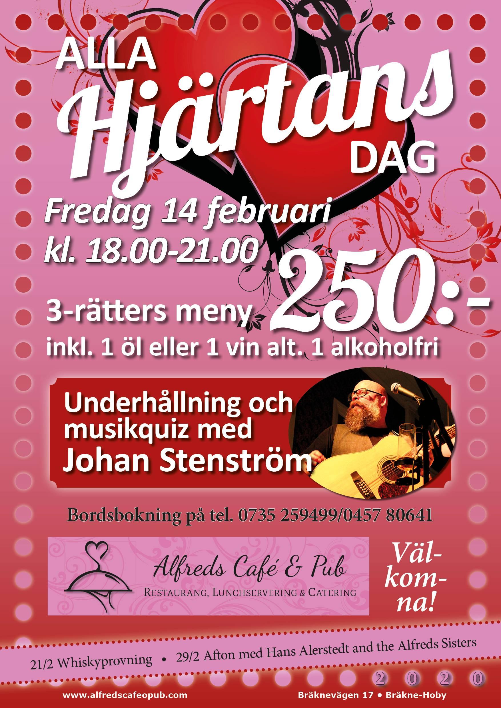 Alla Hjärtans dag med Johan Stenström