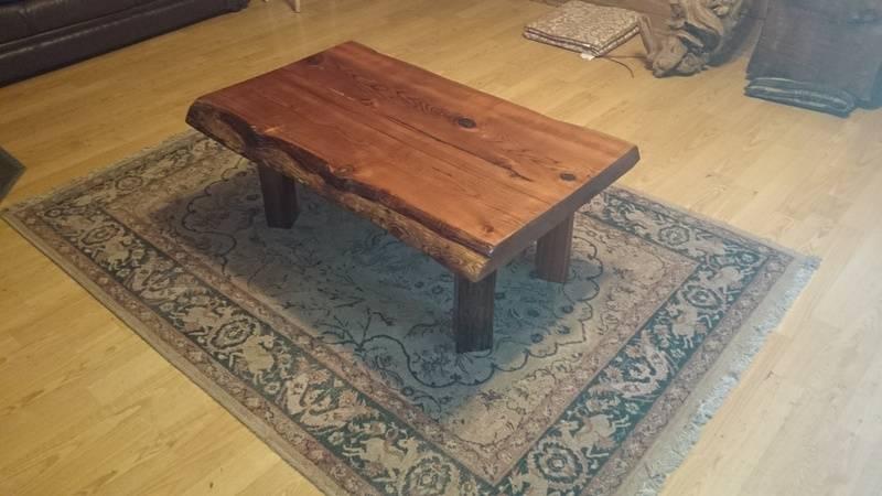elegant cedar coffee table