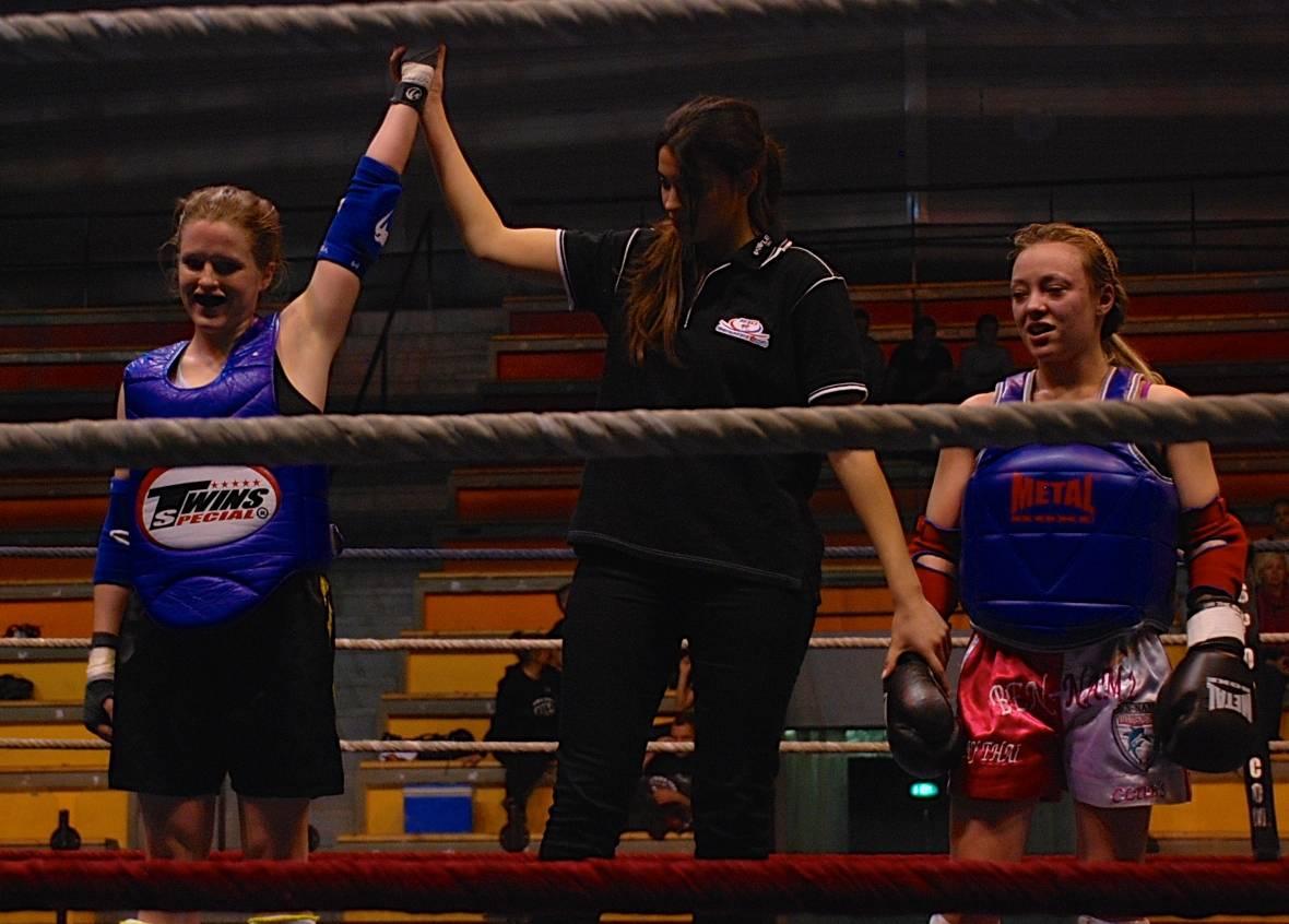Jeanne FRAUCHE - Licorne Boxing - Vainqueur