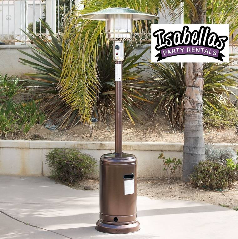 Hammer Bronze Outdoor Standing Patio Heater