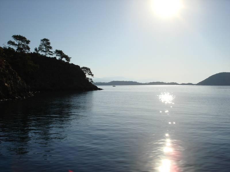 Fethiye Bay anchorage