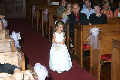 Steidley Wedding Flower Girl