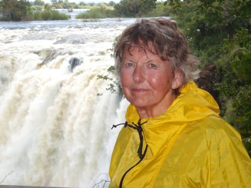 Liz Victoria Falls