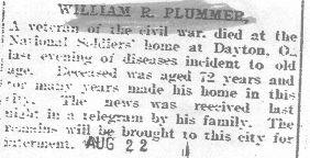 Plummer, William - 1931 - 2nd obit