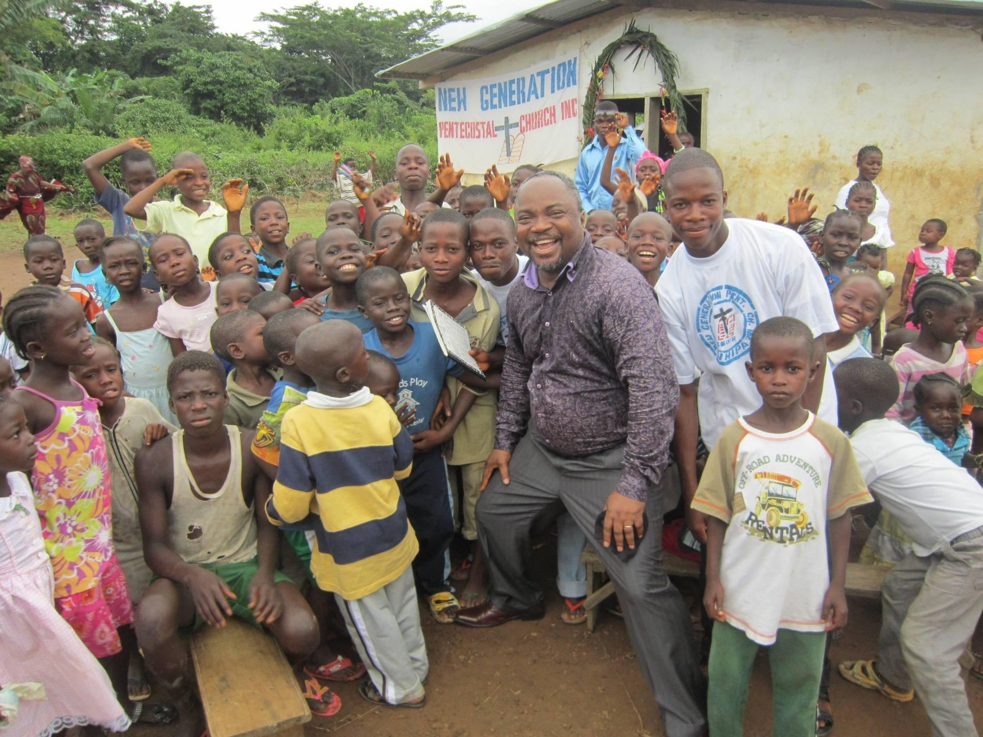 Apostle John Ebegbuna in Ganta