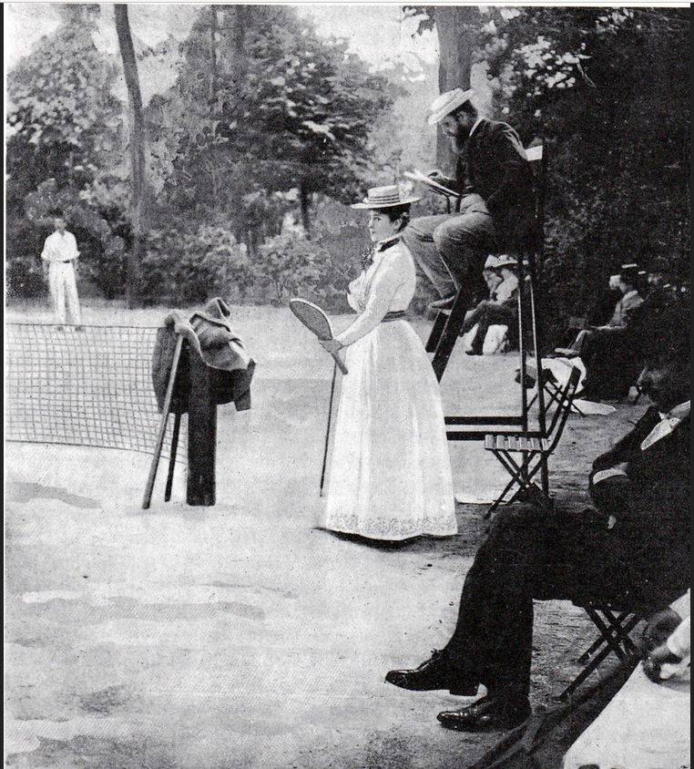 Tennis in 1900