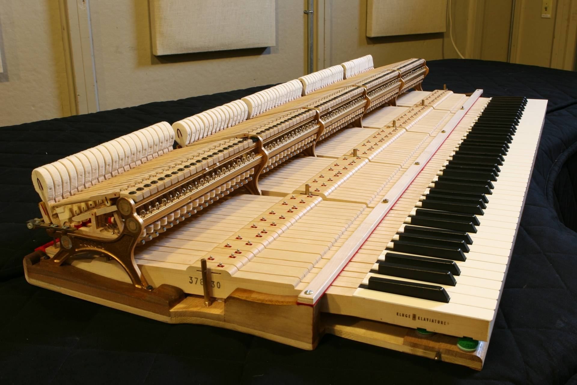 Steinway D Action