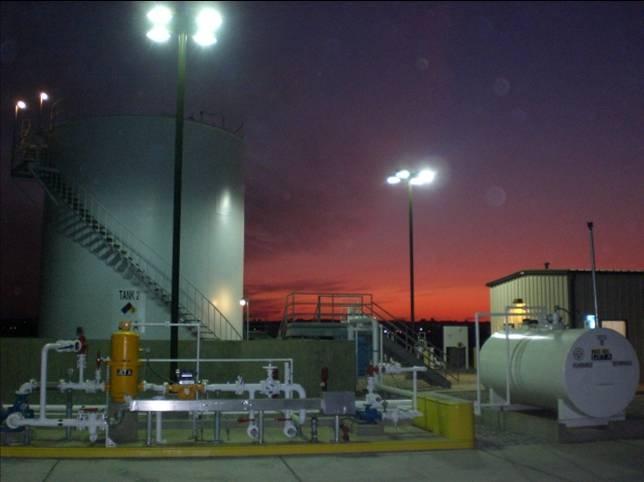 NightShot at March Fuel Facility