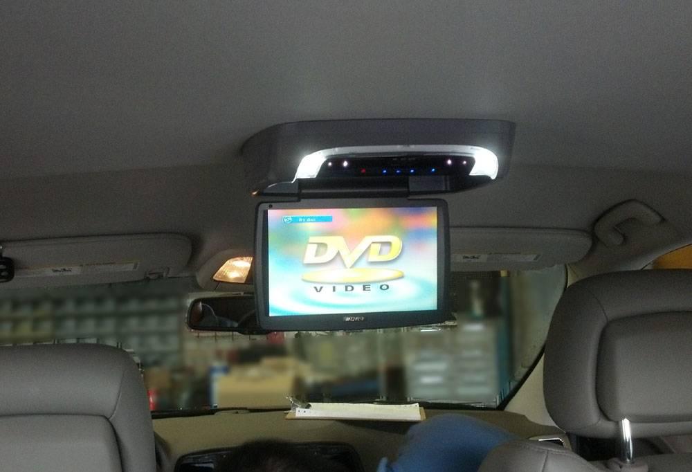 "Audiovox 10"" Flip Down DVD"
