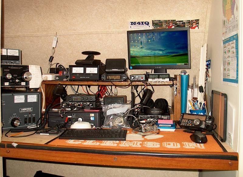 N4IQ's RV trailer station shack