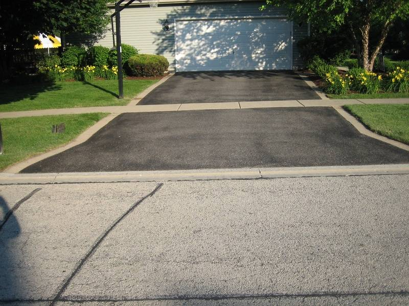 Driveway Before Sealcoating (1 of 2)
