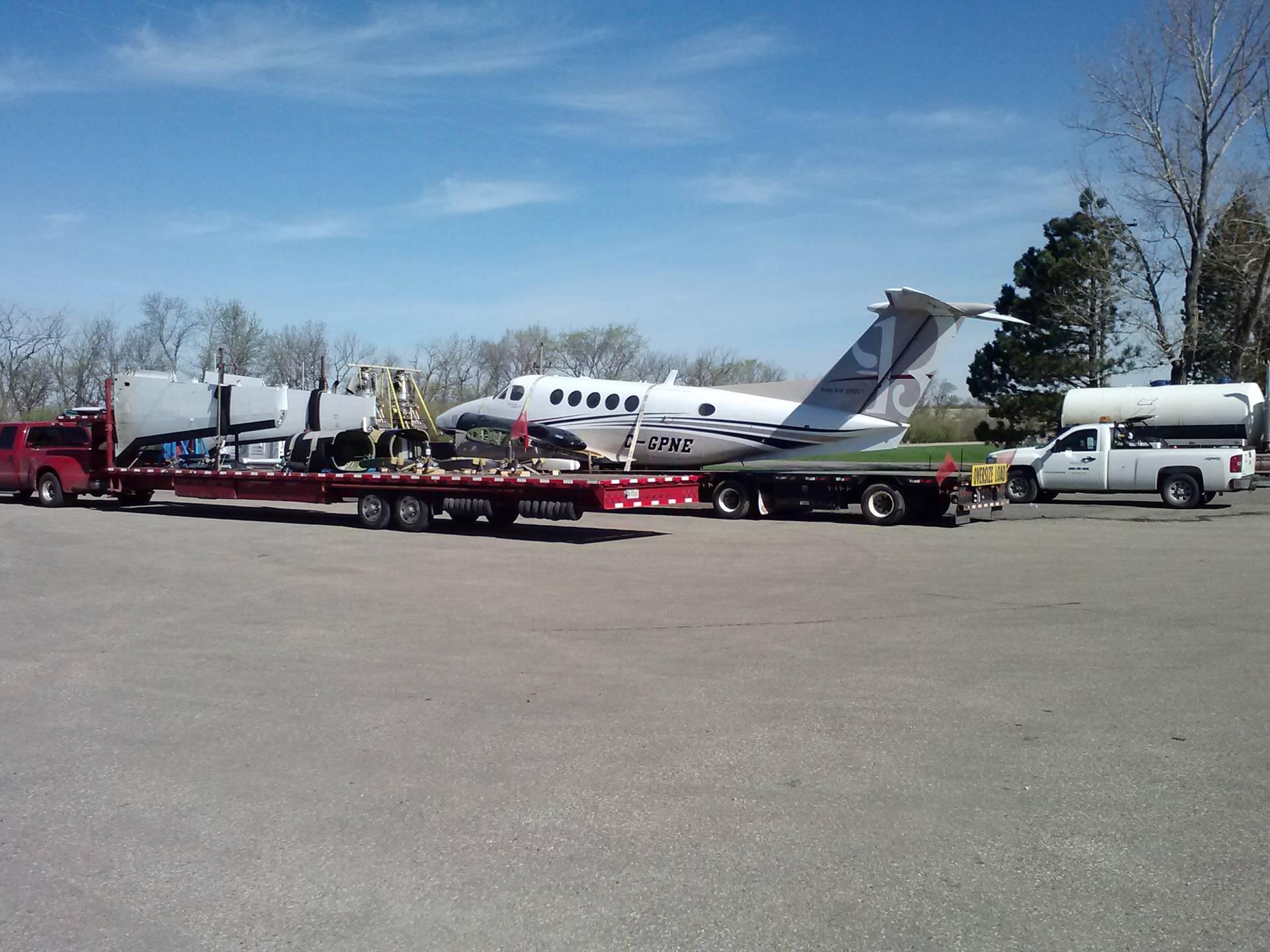 Walking a broken airplane home