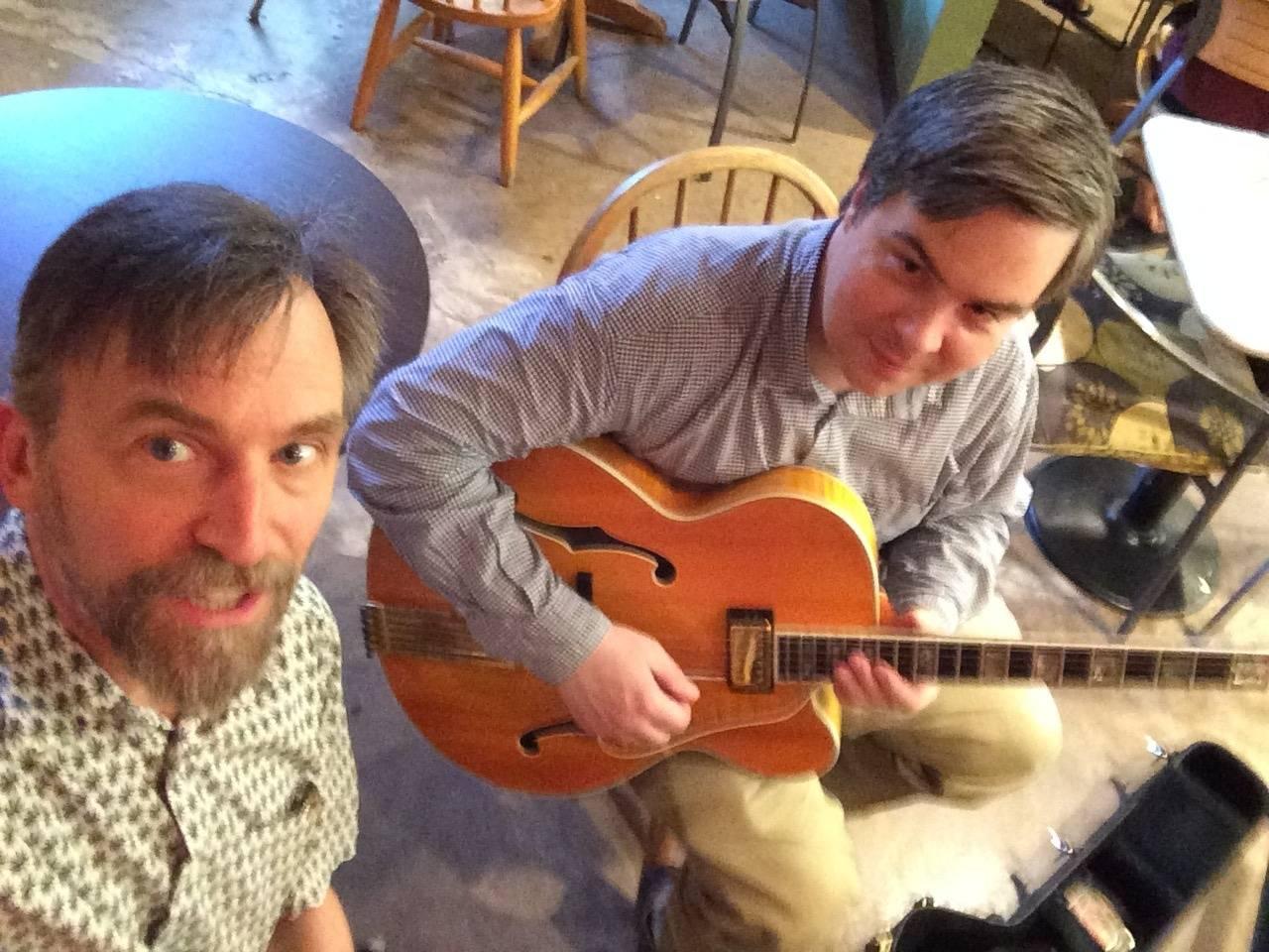 Mick and Mac selfie