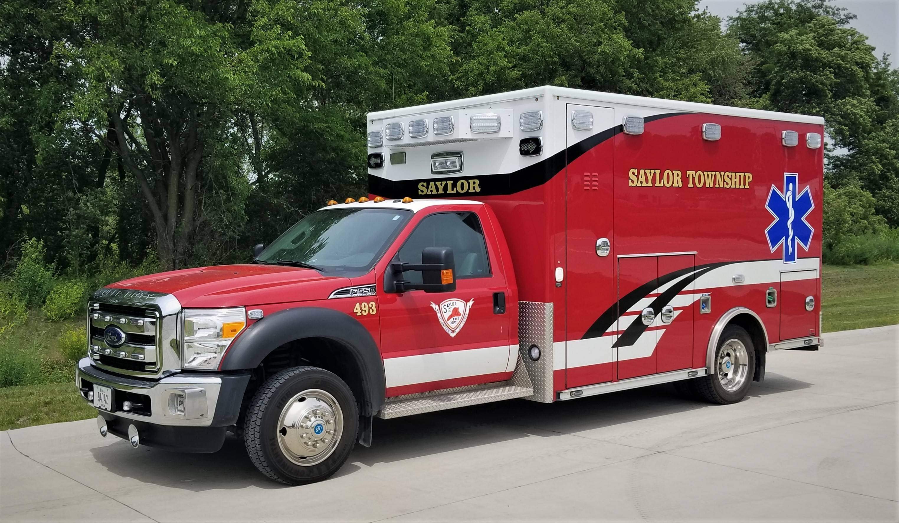 493 - Ambulance