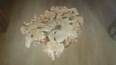 Birch cookie table